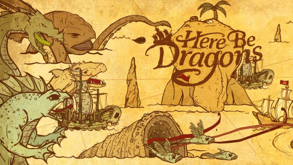 Here Be Dragons, Reviews. The dangers of the sea
