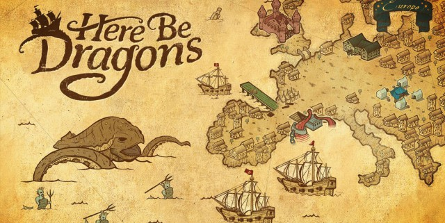 Here Be Dragons, analysis. The dangers of the sea