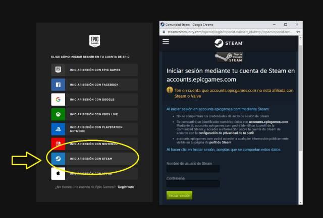 How To Link Your Steam Account With The Epic Games Store