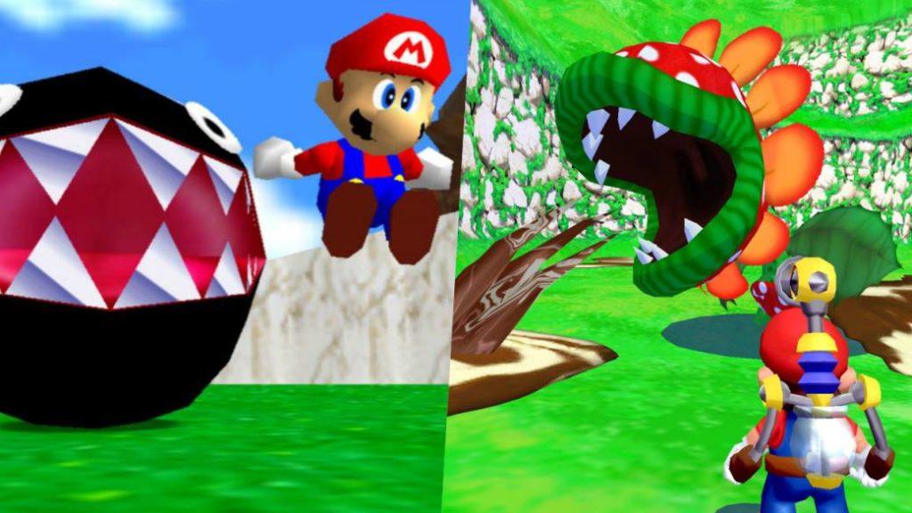 Mario 64 y Mario Sunshine, protagonistas de los nuevos clips de Super Mario 3D All-Stars