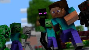 Minecraft on PS4 now supports virtual reality on PlayStation VR