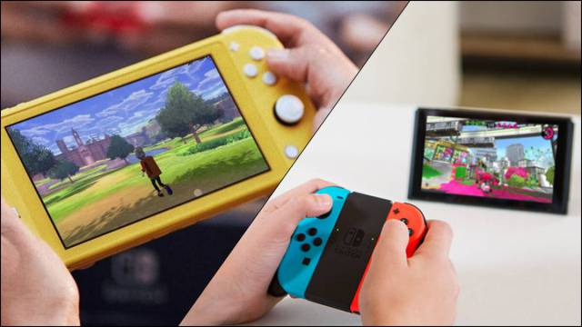 Nintendo Switch and Nintendo Switch Lite