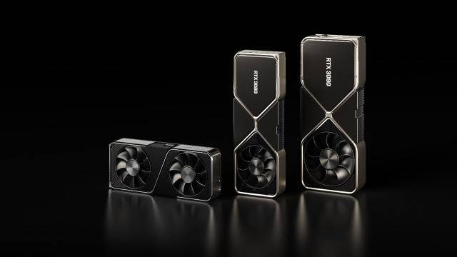 Nvidia GeForce RTX 3070, 3080 and 3090 in Spain