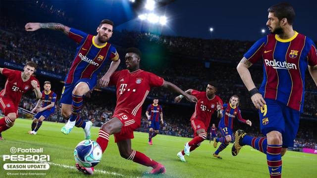 PES 2021: how to install an Option File on PS4