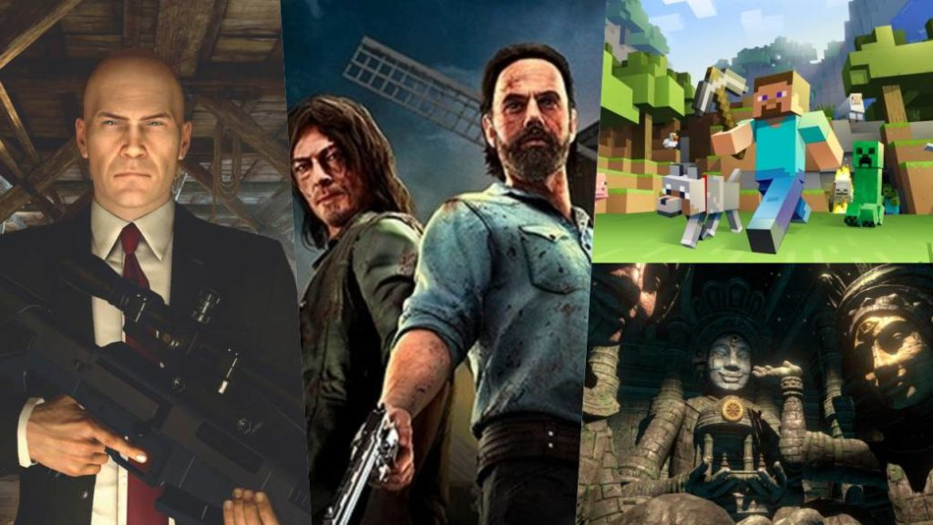 PS VR To Get New Games: Minecraft, The Walking Dead Onslaught, Hitman 3 And More