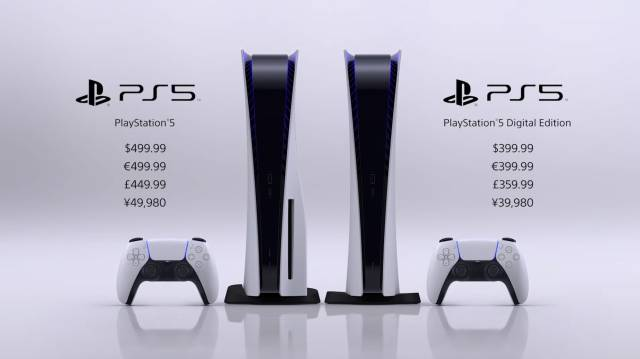 PS5 price date