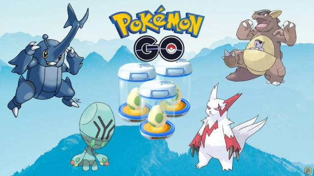 Pokémon GO: all Eggs of 2, 5, 7 and 10 km (September 2020)