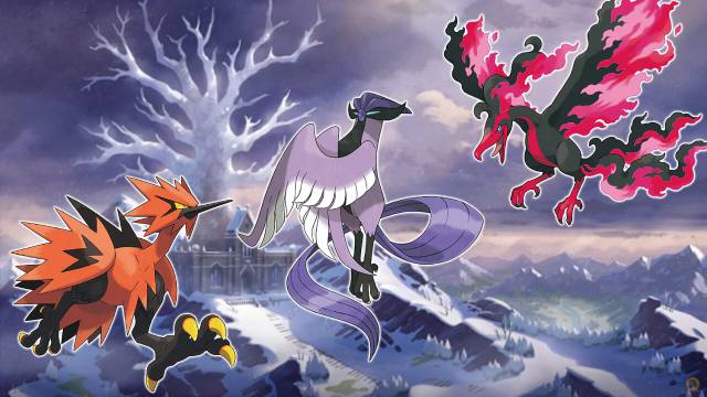 Pokémon Sword and Shield - The Snows of the Crown