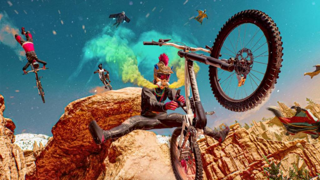 Riders Republic, a new MMO for extreme sports with up to 50 people