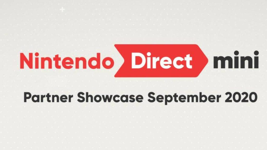 September Nintendo Direct Mini: Partner Showcase Announced
