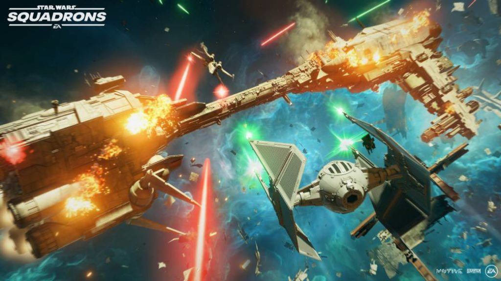 Star Wars: Squadrons will also be joystick compatible on consoles