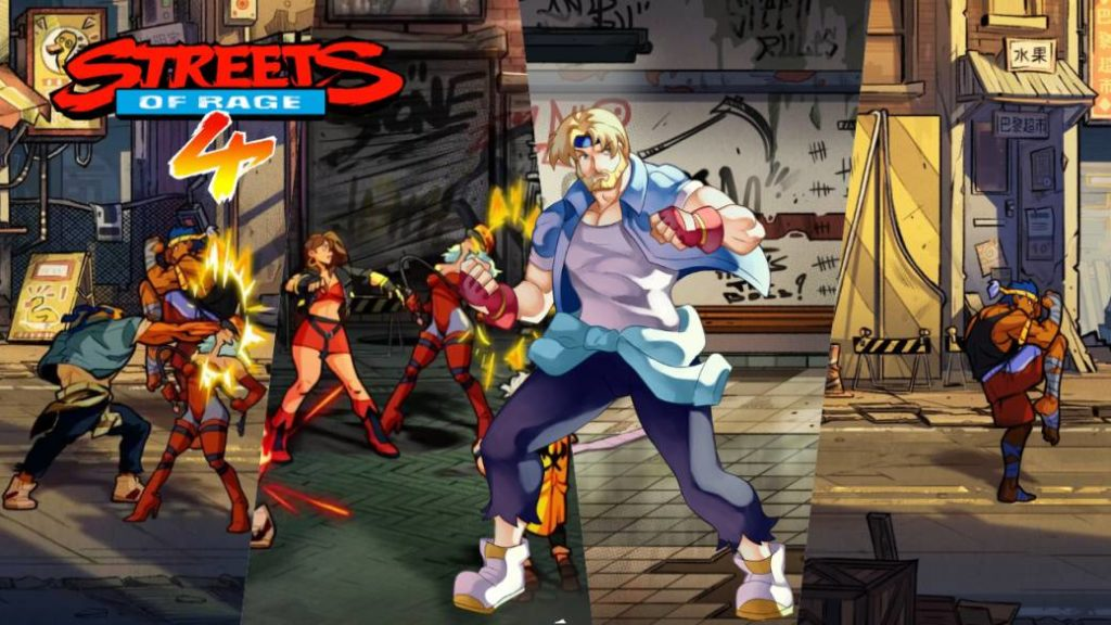 Streets of Rage 4: more than 1.5 million downloads and new update