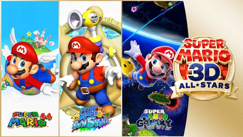 Super Mario 3D All-Stars announced for Switch with Super Mario 64, Sunshine and Galaxy