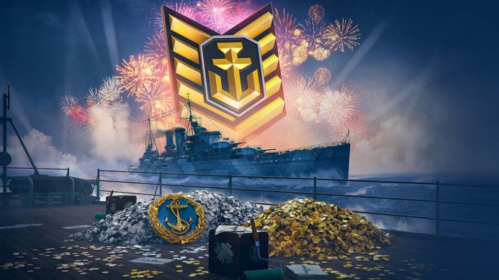 We give away 100 World of Warships codes for their 5th anniversary