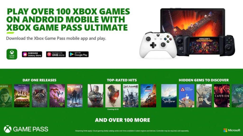 Xbox Game Pass Ultimate: estos son los juegos que se podrán jugar en streaming desde el día 1