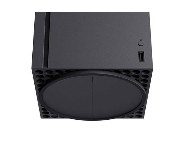 Xbox Series X, rear