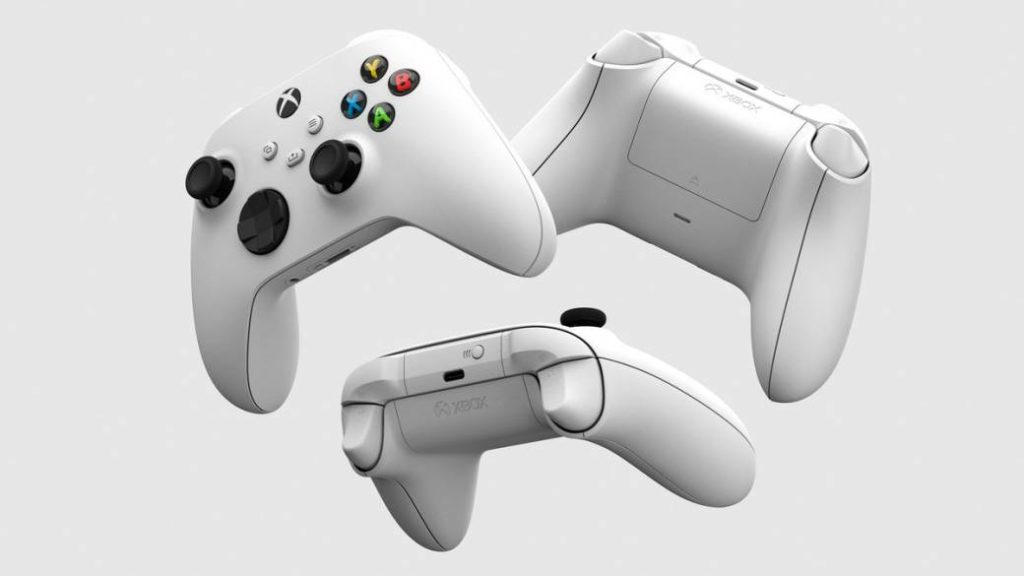 Xbox shows Xbox Series S Robot White controller in detail