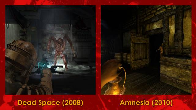 The mechanisms of horror in video games