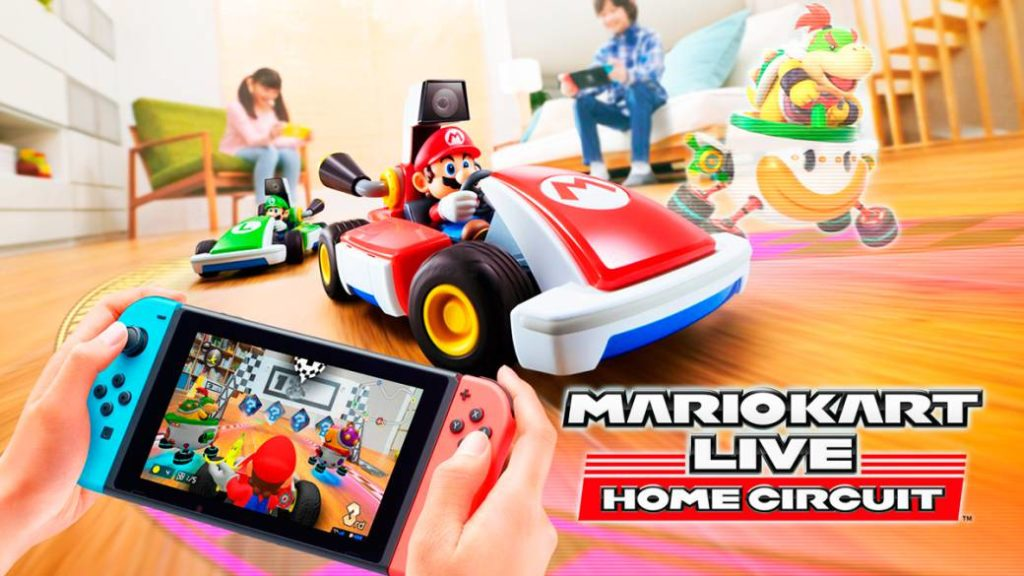 Mario Kart Live Home Circuit, preview. Real and virtual world intersect