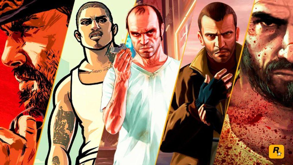 Top Rockstar Games games