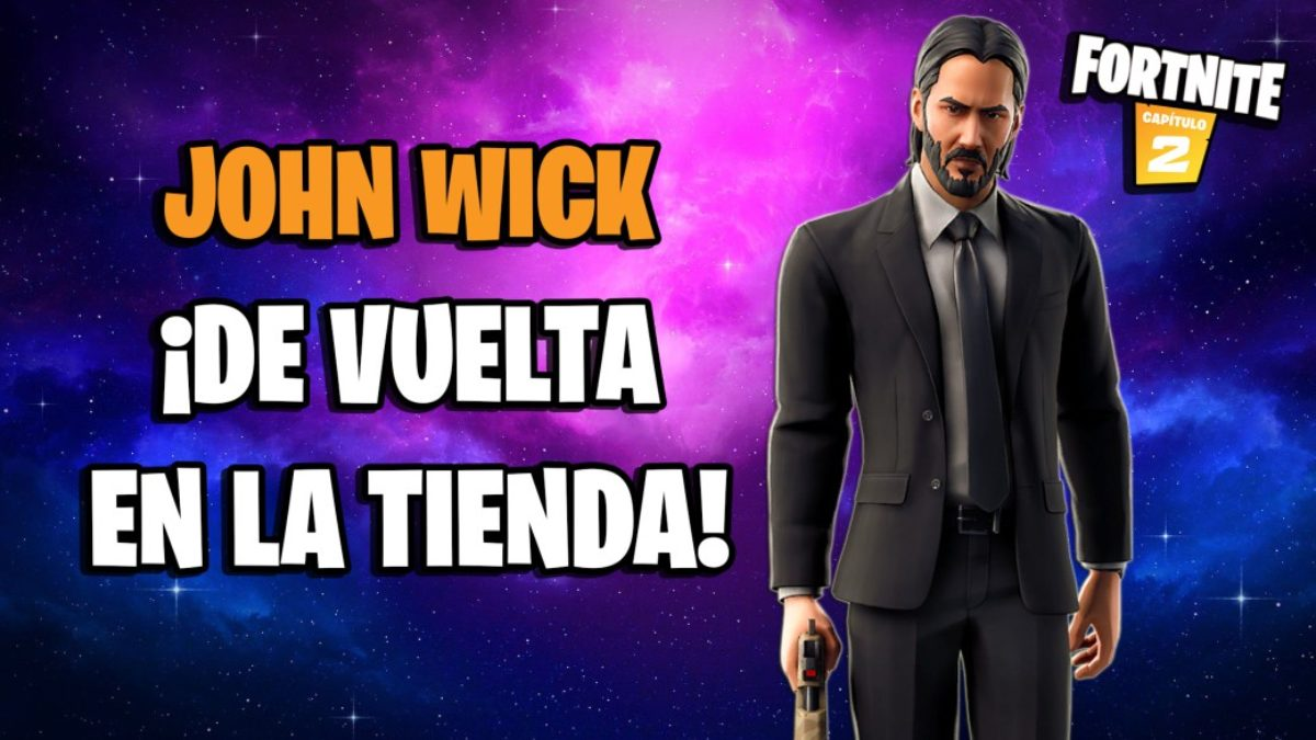 Fortnite John Wick Skin Returns To Store For A Limited Time