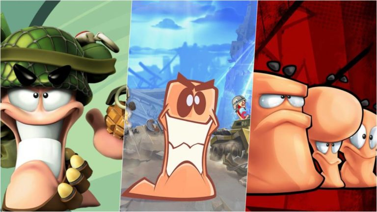 The Worms saga for less than 15 euros in Humble Bundle for PC