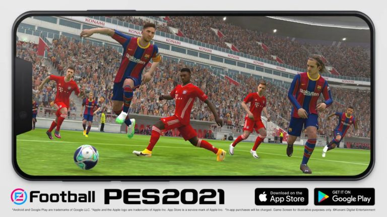 eFootball PES 2021 Mobile, now available on smartphones