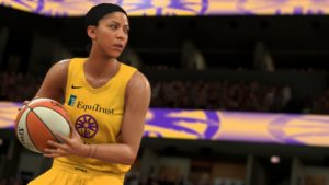 The WNBA in NBA 2K21: they play too