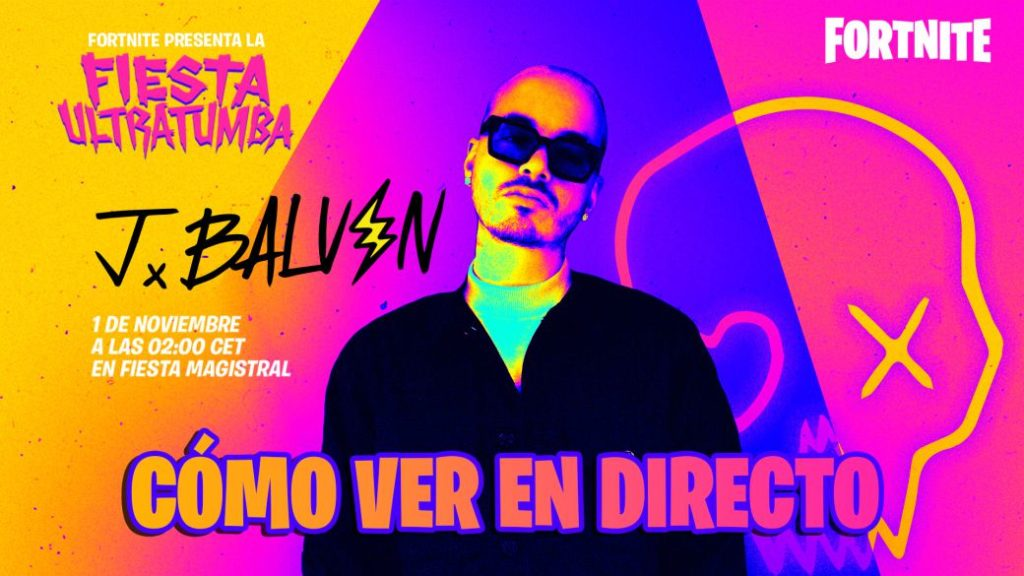 J Balvin's concert in Fortnite: time and where to see his new song online at Fiesta Ultratumba