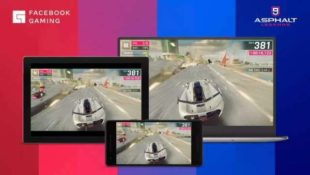 Facebook, streaming games