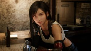 Final Fantasy VII Remake had a special mission starring Tifa