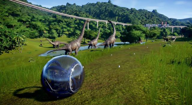 Jurassic World Evolution Complete Edition Nintendo Switch gameplay impressions