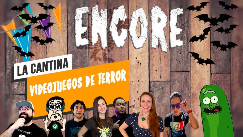 La Cantina Encore: Horror Video Games