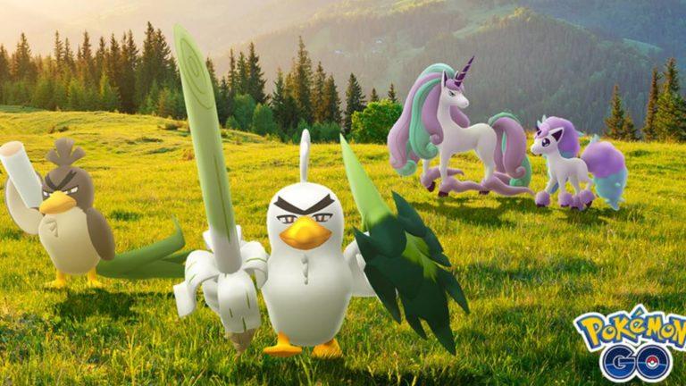 Ponyta and Sirfetch'd de Galar Come to Pokémon GO; how to get them