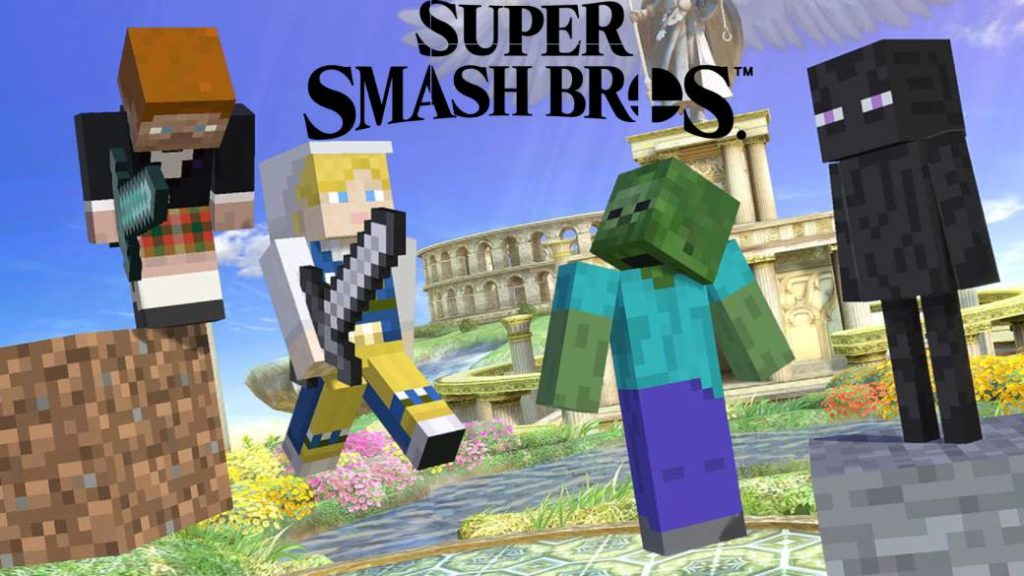 Super Smash Bros. Ultimate, Minecraft