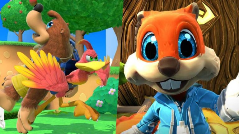 The return of Banjo and Conker depends on Rare, according to Microsoft