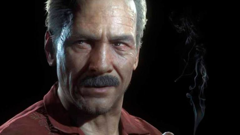 This is what Mark Wahlberg looks like with a mustache in the role of Sully in the Uncharted movie