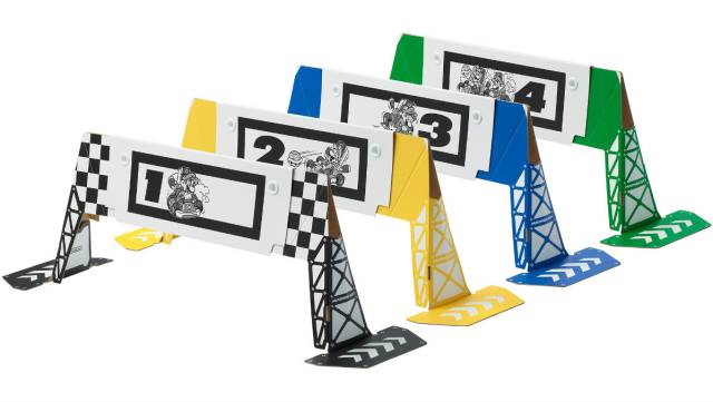 Mario Kart Live Goals Free Print Checkpoints