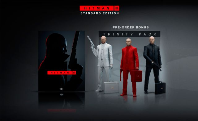 Hitman 3 details the contents of its different editions in physical format