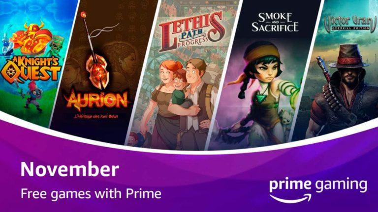 Victor Vran and Smoke and Sacrifice among the free Amazon Prime Gaming games of November