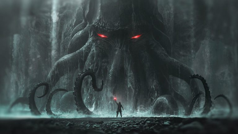Lovecraft and the Call of Cthulhu. Approach to cosmic terror