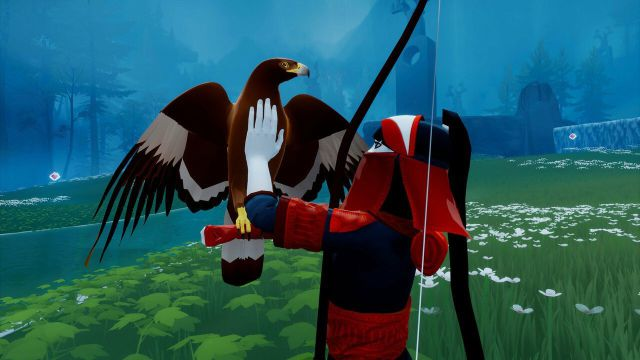 The Pathless, PS4 review. An adventure at the ends of the world