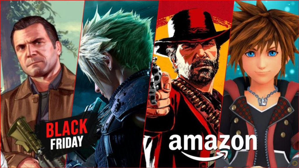 Black Friday 2020 on Amazon: best discounts and great deals on video games and consoles