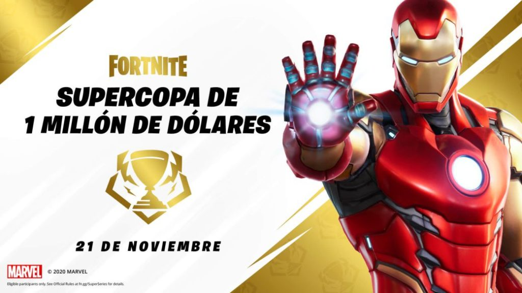 Fortnite: 1 Million Dollar Super Cup; time and how to watch online