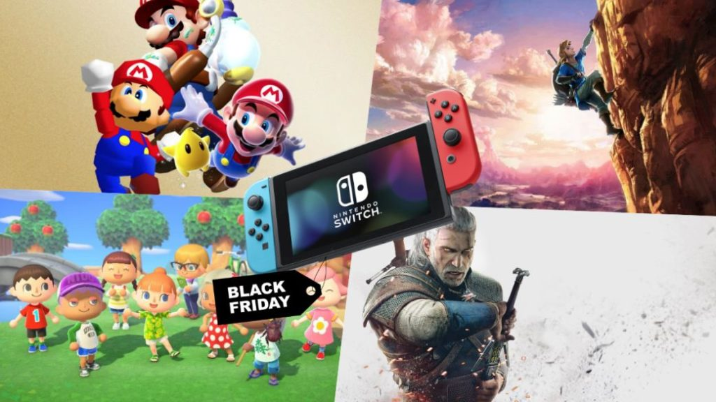 Black Friday 2020 on Nintendo Switch: all offers on games and console packs