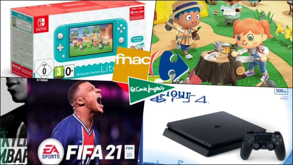 Black Friday 2020 in video games and consoles; best offers from Fnac, El Corte Inglés and Carrefour