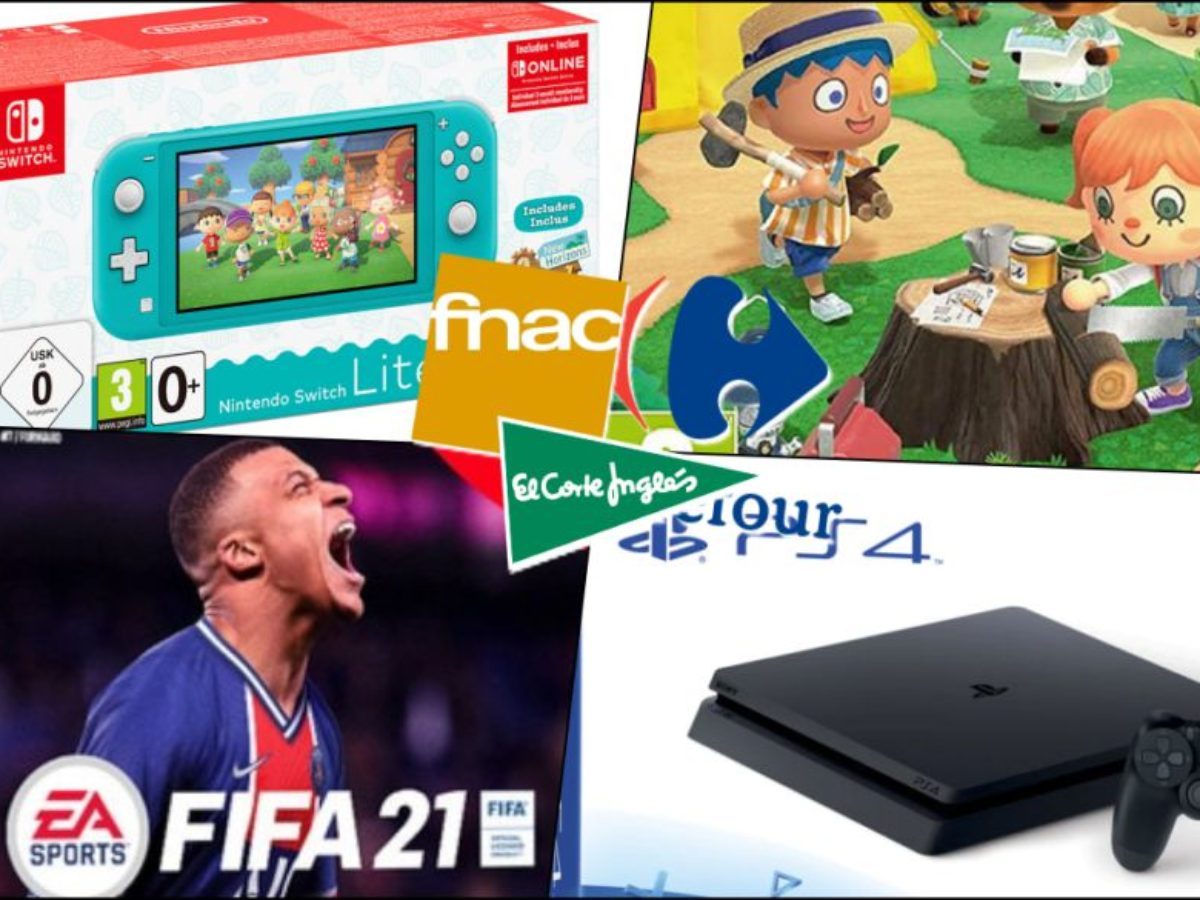 Black Friday 2020 In Video Games And Consoles Best Offers From Fnac El Corte Inglés And Carrefour
