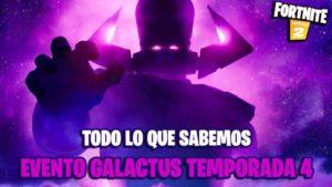 Fortnite  evento Galactus temporada 5