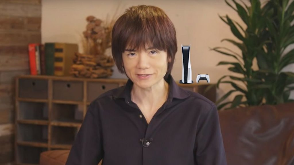 """Super Smash Bros. Ultimate director """"very satisfied"""" with his PS5"""