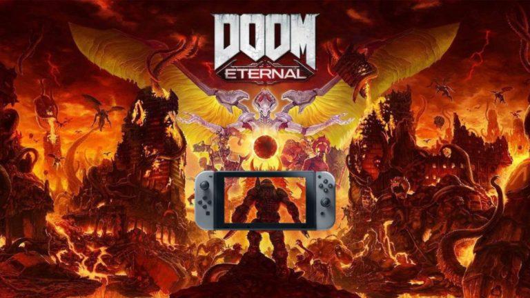 DOOM Eternal Coming to Nintendo Switch in December 2020